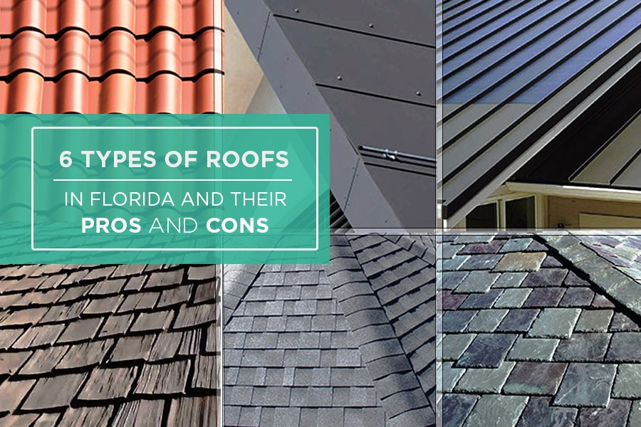 6 Types of Roofs In Florida And The Pros And Cons Of Each One ...