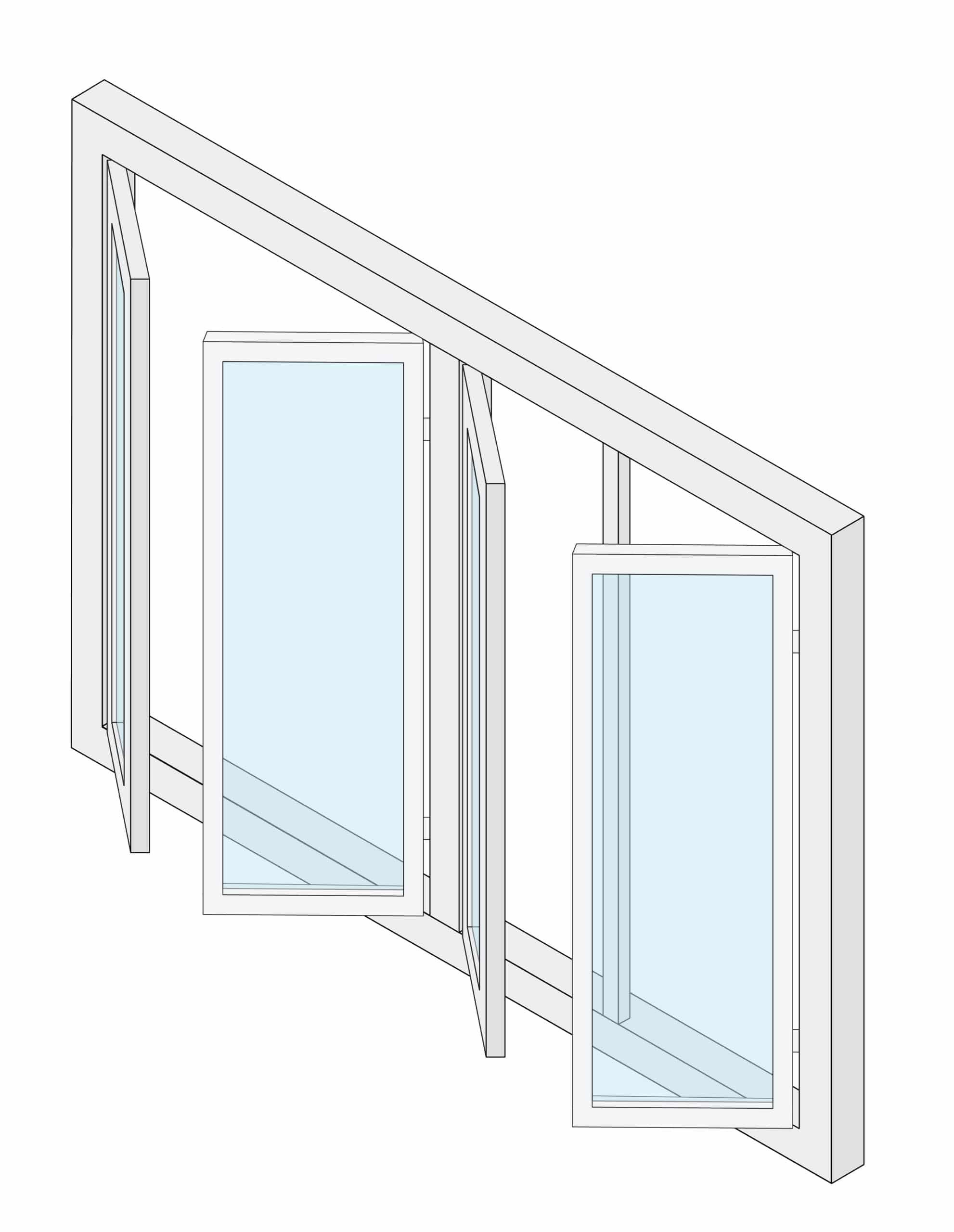 Casement Windows Sunroom