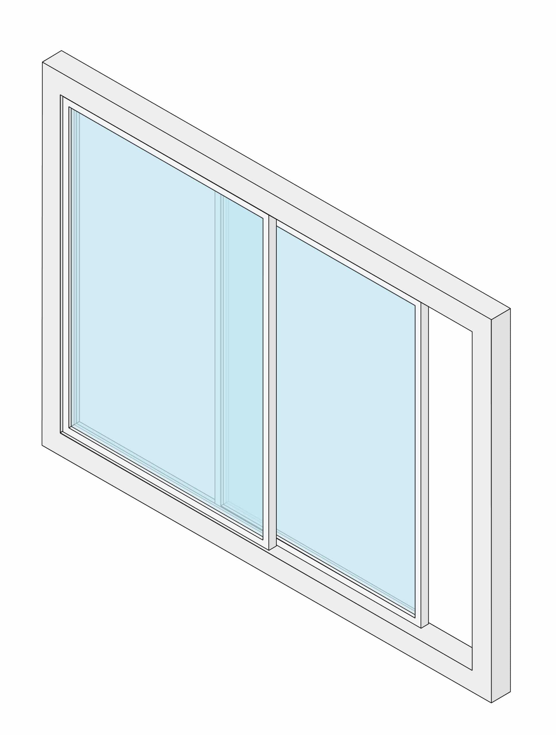 Sliding window sunroom