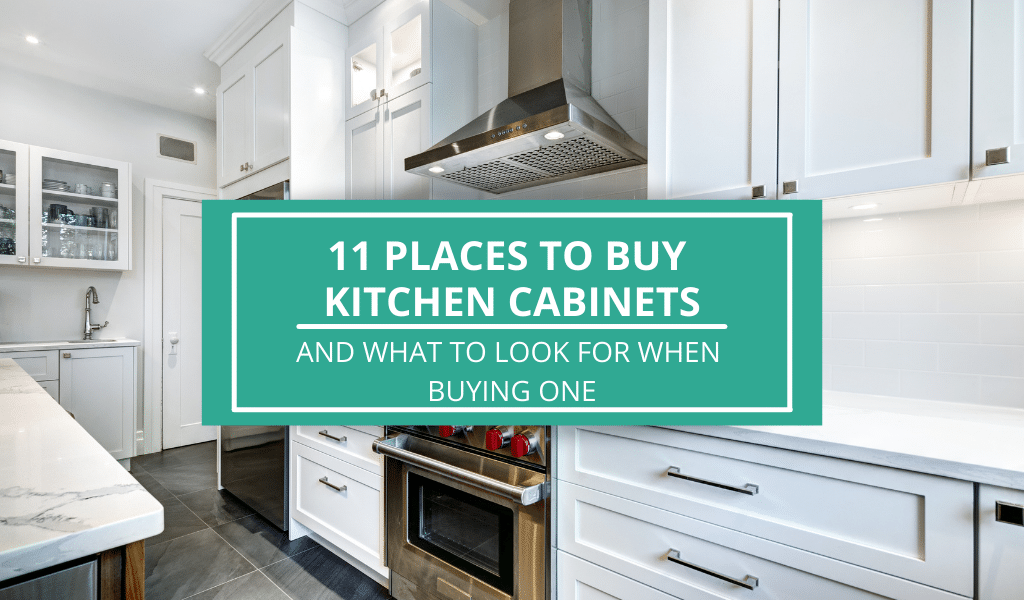places to buy kitchen cabinets