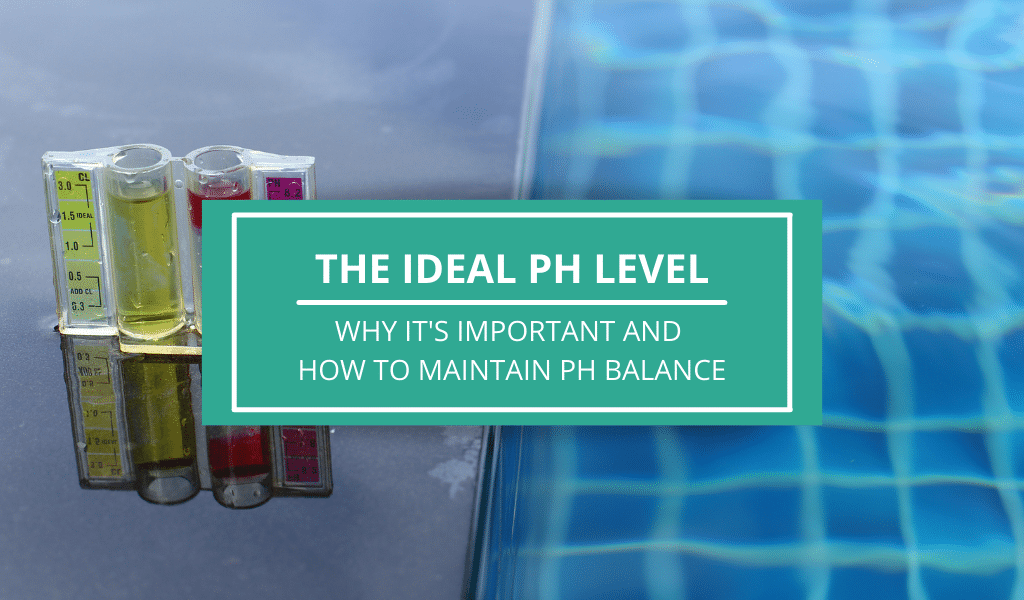 pH LEVEL OF A POOL